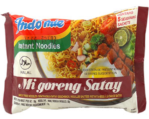 Indomie Satay Fried Noodle